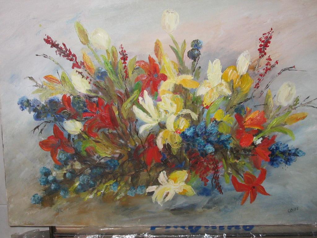 Quadri fiori for Quadri fiori olio