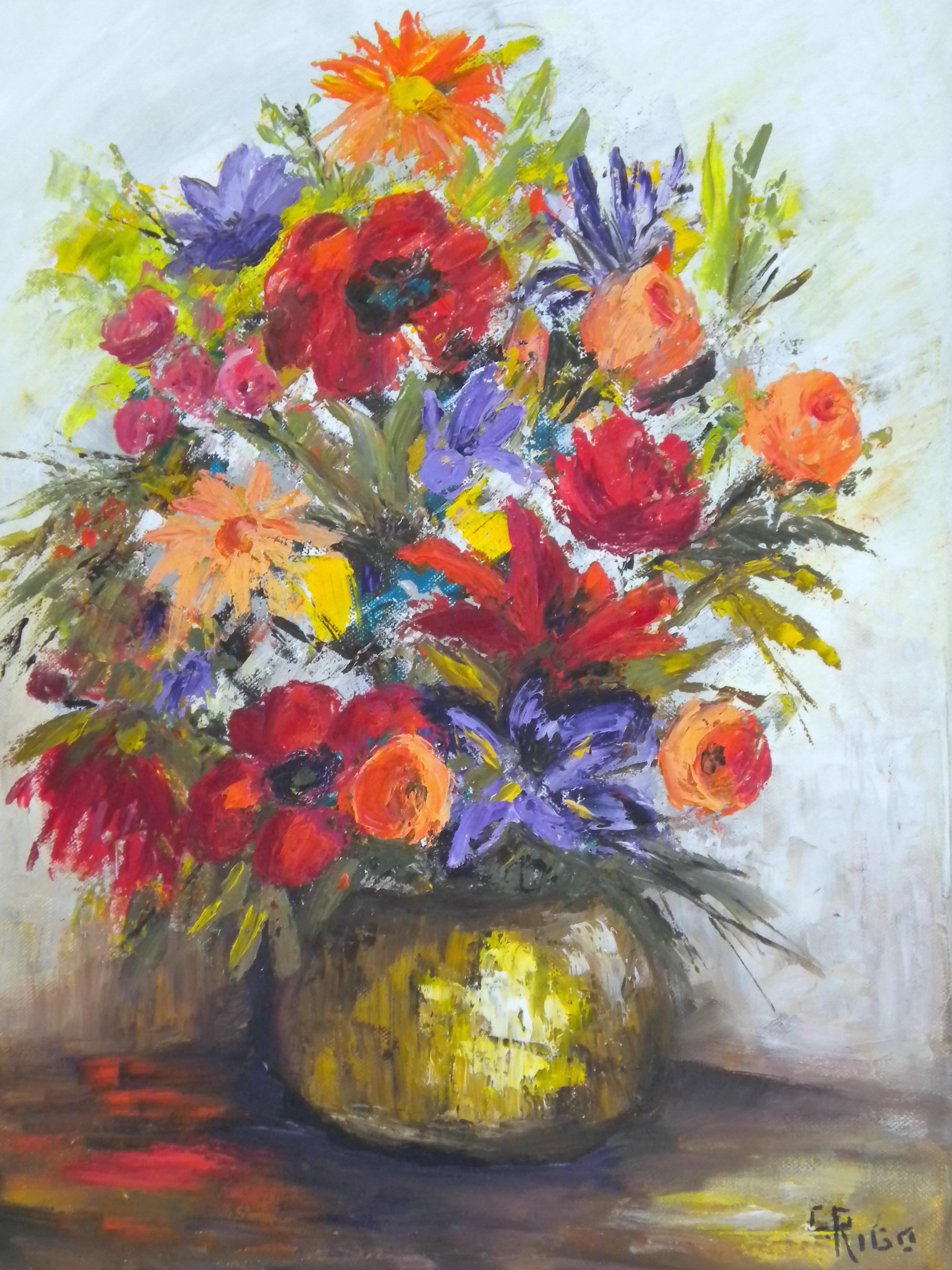 Emejing quadri con fiori photos for Quadri fiori olio